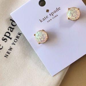 NWT~ KATE SPADE~POPULAR!~Gumdrop Glitter Studs